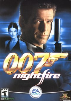 Box art for 007: Nightfire