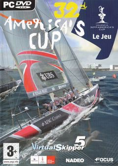 Box art for 32nd Americas Cup � The Game