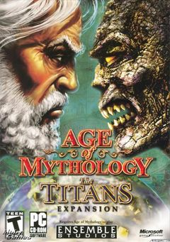 box art for Age of Mythology: The Titans