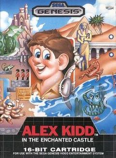 box art for Alex Kidd in the Enchanted Castle