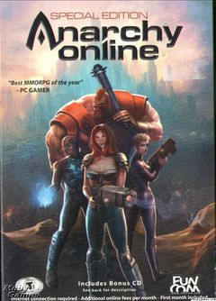 Box art for Anarchy Online