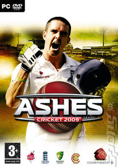 Box art for Ashes Cricket 2009