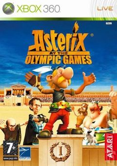 box art for Asterix at the Olympic Games