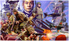 Box art for Axis and Allies