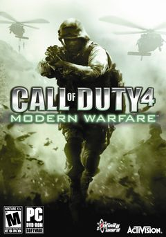 Box art for Call of Duty 4