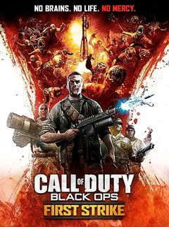Box art for Call Of Duty - Black Ops - First Strike