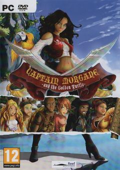 Box art for Captain Morgane and the Golden Turtle