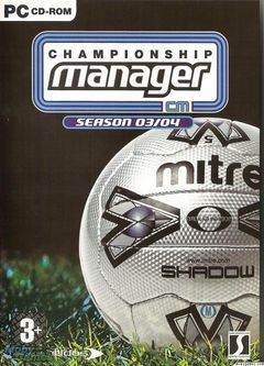 Box art for Championship Manager 03/04