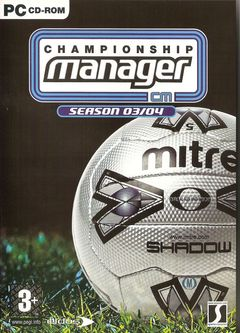 box art for Championship Manager: Season 03/04