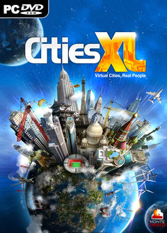 Box art for CITIES XL