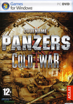 Box art for Codename Panzers: Cold War