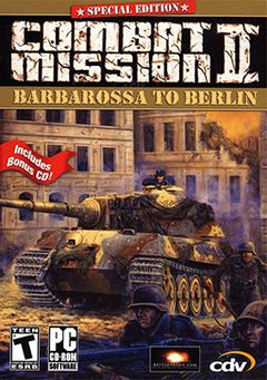 box art for Combat Mission 2: Barbarossa to Berlin