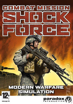 Box art for Combat Mission: Shock Force