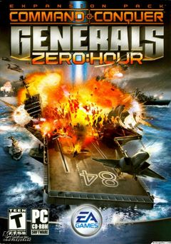 Box art for Command and Conquer: Generals Zero Hour