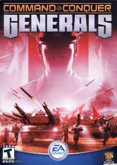 Box art for Command and Conquer: Generals