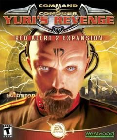 Box art for Command and Conquer: Red Alert 2: Yuris Revenge