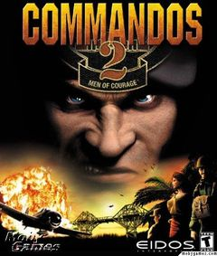 Box art for Commandos 2: Men of Courage