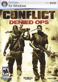 Box art for Conflict: Denied Ops