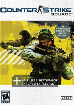 Box art for Counter-Strike: Source