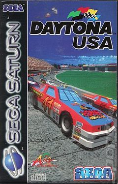 Box art for Daytona USA