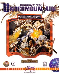 box art for Descent to Undermountain