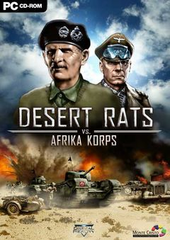 box art for Desert Rats vs. Afrika Korps