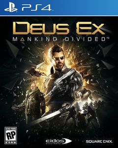 Box art for Deus Ex: Mankind Divided