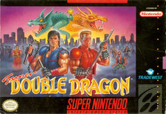 box art for Double Dragon IV