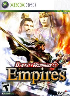 box art for Dynasty Warriors 5 Empires