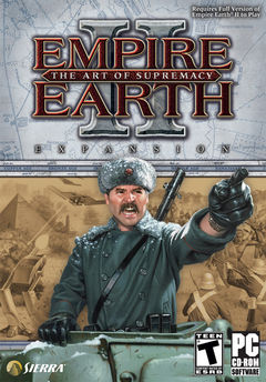 box art for Empire Earth 2: The Art of Supremacy