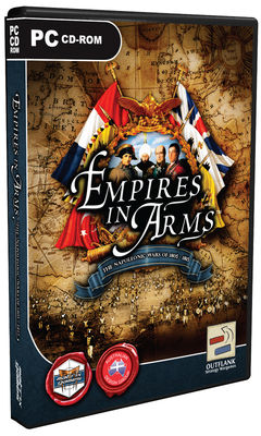 Box art for Empires in Arms!