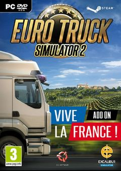 box art for Euro Truck Simulator 2: Vive la France!