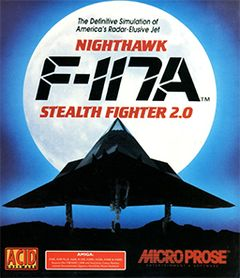 box art for F-117A Stealth Fighter