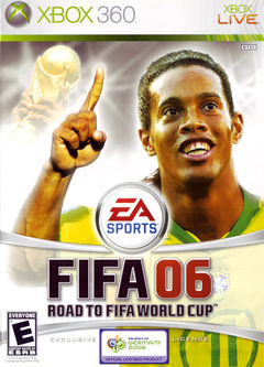 box art for FIFA 2006: Road to the World Cup