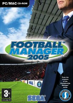 Box art for Football Manager 2005