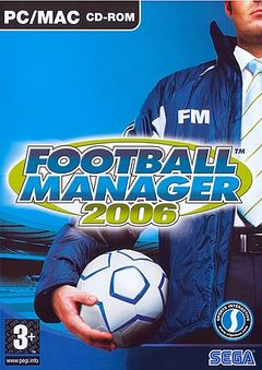 Box art for Football Manager 2006