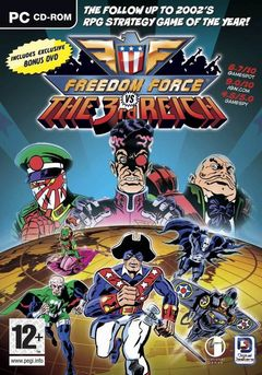 box art for Freedom Force vs the 3rd Reich