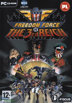 box art for Freedom Force VS The Third Reich
