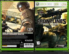 Box art for Frontlines: Fuel of War