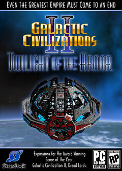 Box art for Galactic Civilizations II: Twilight of the Arnor