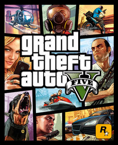 Box art for Grand Theft Auto 5
