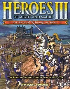 Box art for Heroes Of Might And Magic Online