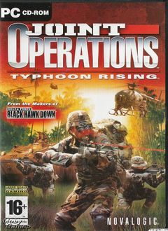 box art for Joint Operations: Typhoon Rising