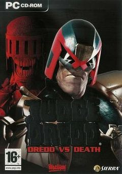 Box art for Judge Dredd: Dredd vs Death