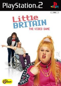 box art for Little Britain The Video Game