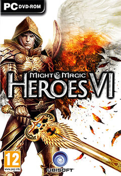 Box art for Might and Magic Heroes VI