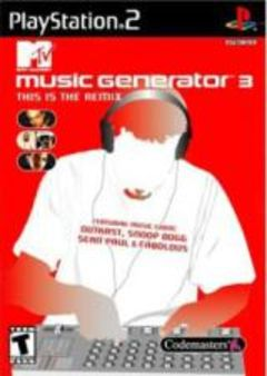 box art for MTV Music Generator 3: This Is The Remix