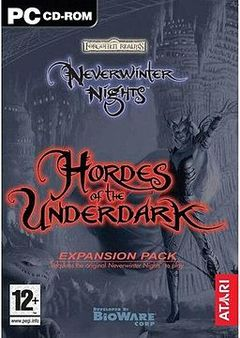 Box art for Neverwinter Nights: Hordes of the Underdark