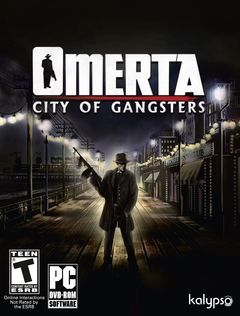box art for Omerta - City of Gangsters