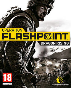 box art for Operation Flashpoint 2: Dragon Rising